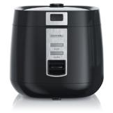Arendo - Reiskocher   Dampfgarer/Dampfgarerfunktion   1,4l Kapazität   Überhitzungsschutz + Thermosicherung   automatische Warmhaltefunktion   540W   wärmeisolierendes Doppelwanddesign - 1