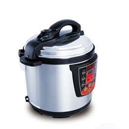 GJJ Elektrischer Schnellkochtopf der Superhochleistung für kommerziellen elektrischen Schnellkochtopf der großen Kapazität,Silber,A - 1