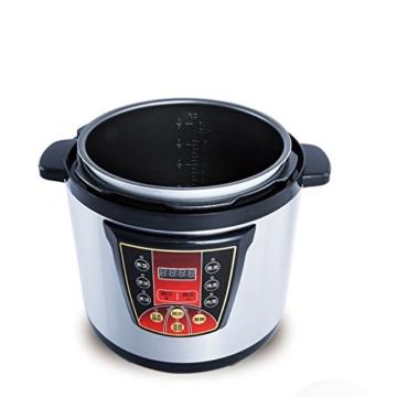 GJJ Elektrischer Schnellkochtopf der Superhochleistung für kommerziellen elektrischen Schnellkochtopf der großen Kapazität,Silber,A - 4