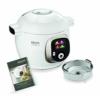 Krups Cook4Me+ CZ7101 Multikocher (Garen unter Druck für schnelle und frische Gerichte, 6 Liter Fassungsvermögen, 1.600 Watt, inkl. Rezeptbuch) weiß/grau - 1