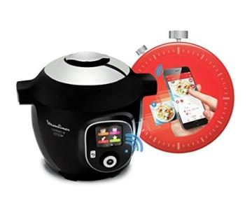Moulinex Intelligenter Multicooker mit Cookeo + Connect-Anwendung, über Bluetooth steuerbar, 150Rezepte, Fassungsvermögen: 6l, Art.-Nr. YY2942FB - 3