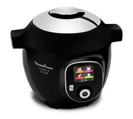 Moulinex Intelligenter Multicooker mit Cookeo + Connect-Anwendung, über Bluetooth steuerbar, 150Rezepte, Fassungsvermögen: 6l, Art.-Nr. YY2942FB - 1