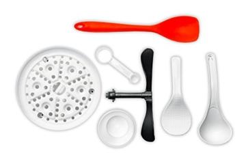 Onepot SF-1705 Multikocher / Dampfgarer / Reiskocher / Slow Cooker  / Fritteuse / Joghurtbereiter / Brotbackautomat unter einem Deckel - 6