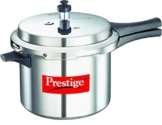 Prestige PPAPC5 Popular Pressure Cooker, 5 L, Silver - 1