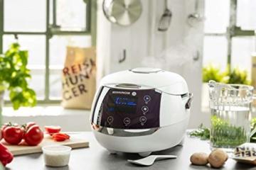 Reishunger Digitaler Reiskocher (1,5l/860W/220V) Multikocher mit 12 Programmen, 7-Phasen-Technologie, Premium-Innentopf, Timer- und Warmhaltefunktion – Reis für bis zu 8 Personen - 2