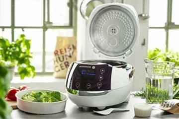 Reishunger Digitaler Reiskocher (1,5l/860W/220V) Multikocher mit 12 Programmen, 7-Phasen-Technologie, Premium-Innentopf, Timer- und Warmhaltefunktion – Reis für bis zu 8 Personen - 3