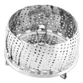 Silit Sicomatic Schnellkochtopf, Dämpfkorb, mit Öse, Ø 14 cm, faltbar, Edelstahl, spülmaschinengeeignet - 1