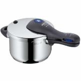 WMF Perfect Plus Schnellkochtopf 2,5l, Cromargan Edelstahl poliert, 2 Kochstufen Einhand-Kochstufenregler, induktionsgeeignet, spülmaschinengeeignet, Ø 18 cm - 1