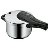 WMF Perfect Schnellkochtopf 2,5l, Cromargan Edelstahl poliert, 2 Kochstufen Einhand-Kochstufenregler, induktionsgeeignet, spülmaschinengeeignet, Ø 18 cm - 1