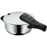 WMF Perfect Schnellkochtopf 3,0l, Cromargan Edelstahl poliert, 2 Kochstufen Einhand-Kochstufenregler, induktionsgeeignet, spülmaschinengeeignet, Ø 22 cm - 1