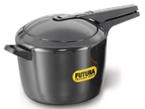 Futura by Hawkins Hard Anodized 9.0 Litre Pressure Cooker from Hawkins by Hawkins -