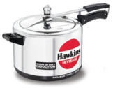 Hawkins Hevibase IH80 8-Litre Induction Pressure Cooker, Small, Silver By MaxxGallery -
