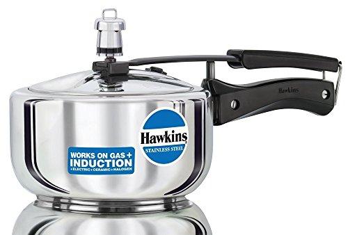 Hawkins Pressure Cooker Stainless Steel 2 Ltr. -