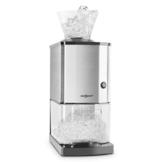 oneConcept Icebreaker • Ice Crusher • Eiscrusher • Eiszerkleinerer • 15 kg / h • 3,5 Liter (etwa 1,75 kg) Eisbehälter • aufsetzbarer Einfülltrichter • Sicherheitsschalter • Saugnapffüße • kompakt • einfach zu reinigen • Edelstahlgehäuse • silber - 1