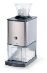 Trebs Edelstahl Eiscrusher ideal für Softdrinks, Cocktails oder kalte Nachtischzubereitung (1 kg zerkleinertes Eis pro Minute, Kapazität 3 Liter, 80 Watt) - 1