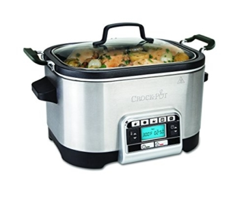 Crock-Pot CSC024X - Das Original aus den USA | Digitaler Schongarer & Multikocher | 5,6 L | Digitale Anzeige | programmierbarer Timer | Warmhaltefunktion | programmierbare Temperatureinstellungen - 1