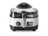 DeLonghi MultiFry Extra Chef FH1394/2 Heißluftfritteuse/Multicooker (1,7 kg Fassungsvermögen, 1.400W / 1.000W, 8 Portionen, SHS-Double-Pro, Rezepte-App) grau/weiß - 1