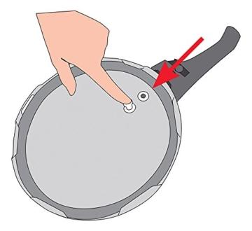 ELO Silikondichtung 99385 für Druckregelventil passend zum XL Schnellkochtopf PRAKTIKA PLUS / Ersatzteil - 1