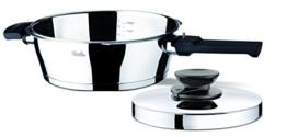 Fissler FL62030102180 Vitavit Premium Schnellkochpfanne 2,5l 22cm mit Deckel, Edelstahl - 1