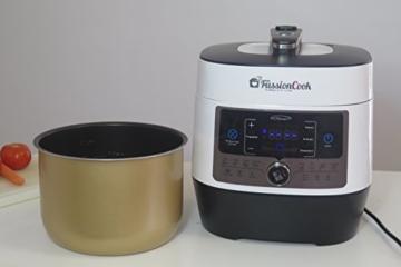 fussioncook fc7smart, programmierbar, Multifunktion, 14Funktionen, Einzige Einkochautomat mit Dekompression gedrückt, Änderung von Temperaturen, Menü Brot mit Gärung - 2