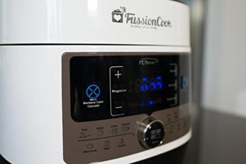 fussioncook fc7smart, programmierbar, Multifunktion, 14Funktionen, Einzige Einkochautomat mit Dekompression gedrückt, Änderung von Temperaturen, Menü Brot mit Gärung - 5