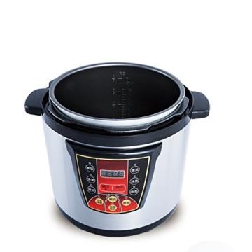 GJJ Elektrischer Schnellkochtopf der Superhochleistung für kommerziellen elektrischen Schnellkochtopf der großen Kapazität,Silber,A - 3