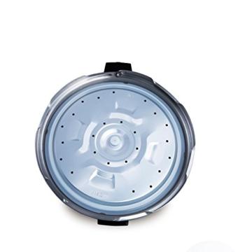 GJJ Elektrischer Schnellkochtopf der Superhochleistung für kommerziellen elektrischen Schnellkochtopf der großen Kapazität,Silber,A - 6