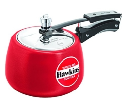 Hawkins Keramikbeschichtetes Contura Druckkocher, 3 L, Rot - 1