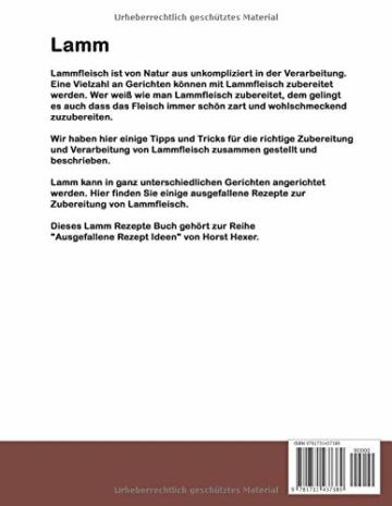 Lamm - Ausgefallene Rezept Ideen: Lamm - lammtastische Gerichte - 2