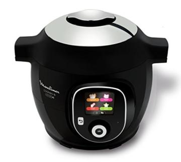 Moulinex Intelligenter Multicooker mit Cookeo + Connect-Anwendung, über Bluetooth steuerbar, 150Rezepte, Fassungsvermögen: 6l, Art.-Nr. YY2942FB - 2