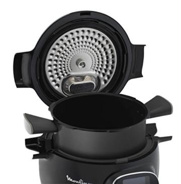 Moulinex Intelligenter Multicooker mit Cookeo + Connect-Anwendung, über Bluetooth steuerbar, 150Rezepte, Fassungsvermögen: 6l, Art.-Nr. YY2942FB - 4