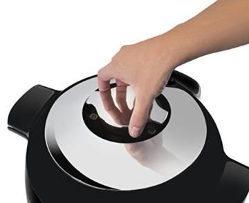 Moulinex Intelligenter Multicooker mit Cookeo + Connect-Anwendung, über Bluetooth steuerbar, 150Rezepte, Fassungsvermögen: 6l, Art.-Nr. YY2942FB - 6