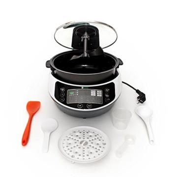 Onepot SF-1705 Multikocher / Dampfgarer / Reiskocher / Slow Cooker  / Fritteuse / Joghurtbereiter / Brotbackautomat unter einem Deckel - 3