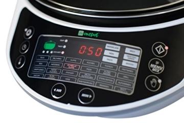 Onepot SF-1705 Multikocher / Dampfgarer / Reiskocher / Slow Cooker  / Fritteuse / Joghurtbereiter / Brotbackautomat unter einem Deckel - 4