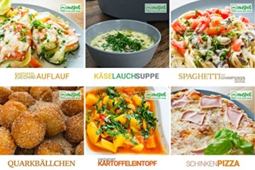 Onepot SF-1705 Multikocher / Dampfgarer / Reiskocher / Slow Cooker  / Fritteuse / Joghurtbereiter / Brotbackautomat unter einem Deckel - 8
