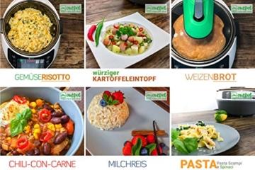 Onepot SF-1705 Multikocher / Dampfgarer / Reiskocher / Slow Cooker  / Fritteuse / Joghurtbereiter / Brotbackautomat unter einem Deckel - 9