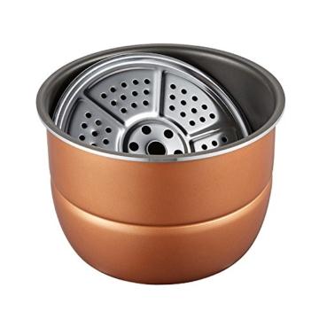 QAS 6L intelligente elektrische Schnellkochtopf Hause Multi-Funktions-Schnellkochtopf Reiskocher,Weinrot,6L - 7