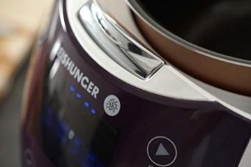 Reishunger Digitaler Reiskocher (1,5l/860W/220V) Multikocher mit 12 Programmen, 7-Phasen-Technologie, Premium-Innentopf, Timer- und Warmhaltefunktion – Reis für bis zu 8 Personen - 7