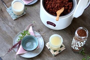 Reishunger Reiskocher (1,2l / 500W / 220V) Warmhaltefunktion, hochwertiger Innentopf, Löffel und Messbecher – Reis für bis zu 6 Personen - 3