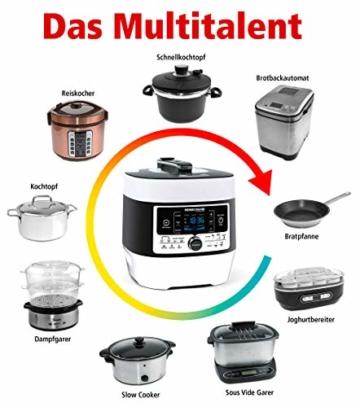 ROMMELSBACHER MeinHans MD 1000, weiß/schwarz - 2