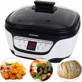 Syntrox Germany Programmierbarer Multicooker Multikocher 8in1 mit Digital Panel MC-1500W Variety - 1