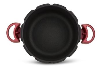 Tefal Clipso minut Duo Schnellkochtopf 5L Aluminium mit 5Sicherungssysteme und einfacher Verschluss mit einer Hand, grau und rot - 3