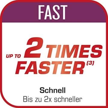 Tefal Clipso minut Duo Schnellkochtopf 5L Aluminium mit 5Sicherungssysteme und einfacher Verschluss mit einer Hand, grau und rot - 7