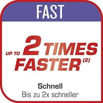 Tefal P4620733 Clipso Minut' Perfect Schnellkochtopf mit Garbkorb und Timer (6L) edelstahl/weiß/rot - 5