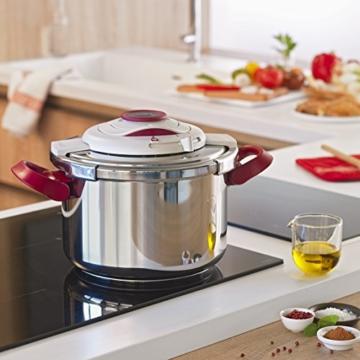 Tefal yy2981fa Schnellkochtopf Clipso Plus Genauigkeit + Gemüseschäler + 4Schneidebretter Fresh Kitchen - 6