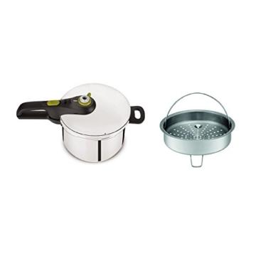 Tefal yy3081fa Schnellkochtopf Secure Neo 5und Küchenwaage, Edelstahl, Edelstahl, 45x 29x 30cm - 2