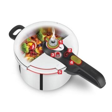 Tefal yy3081fa Schnellkochtopf Secure Neo 5und Küchenwaage, Edelstahl, Edelstahl, 45x 29x 30cm - 6