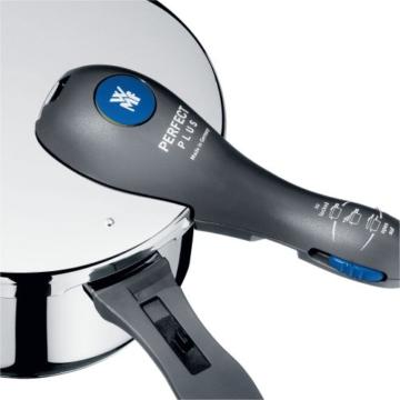 WMF Perfect Plus Ersatzteil Deckelgriff, komplett für Schnellkochtopf, Kunststoff, schwarz - 3