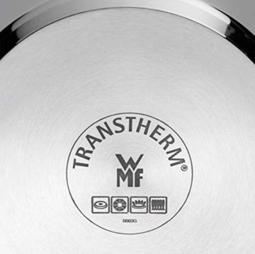 WMF Perfect Premium Schnellkochtopf Set 2-teilig 6,5l & 3,0l mit Einsatz-Set, Cromargan Edelstahl poliert, 2 Kochstufen Einhand-Kochstufenregler, induktionsgeeignet, spülmaschinengeeignet, Ø 22 cm - 6