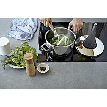 WMF Perfect Pro Schnellkochtopf 6,5l, Cromargan Edelstahl poliert, 2 Kochstufen All-In-One Drehknopf, induktionsgeeignet, spülmaschinengeeignet, Ø 22 cm - 8